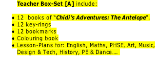 Teacher Box-Set [A] include: